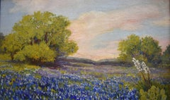 """Bluebonnet Wildflowers""  Texas Hill Country"