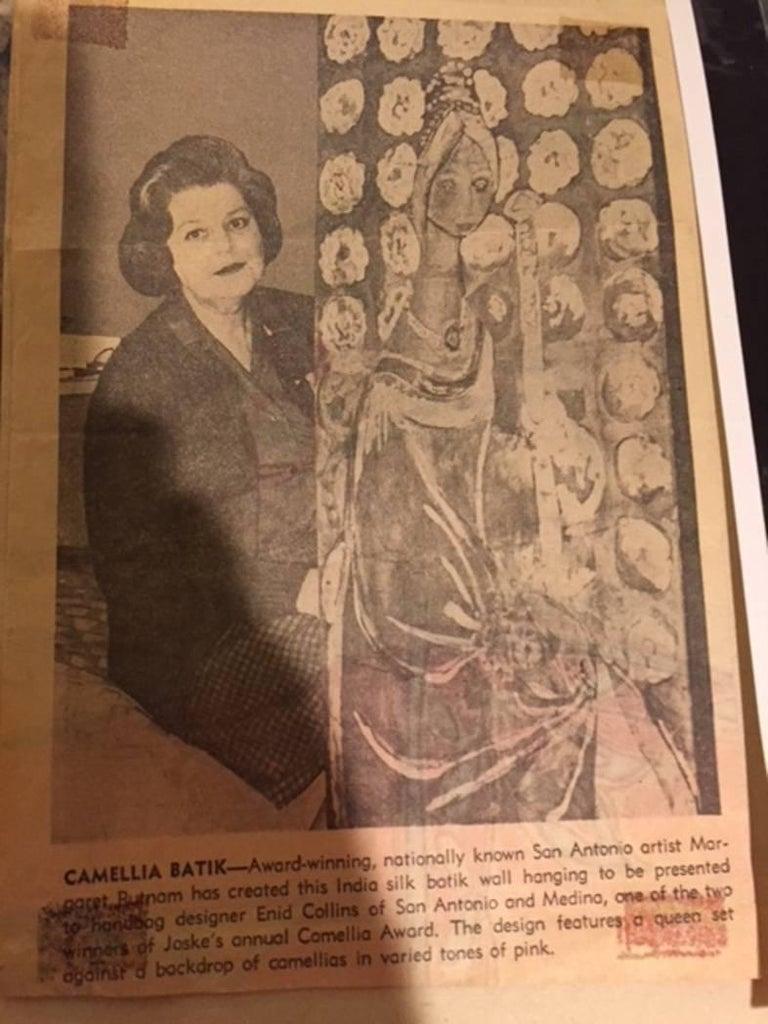 """Margaret Putnam (1913-1987) San Antonio Artist Image Size: 33 x 68 Frame Size: 36 x 69 Medium: Oil  """"Pavillion"""" Biography Margaret Putnam (1913-1987) Margaret Putnam left an artistic legacy rare even in the art world. Revered for her"""