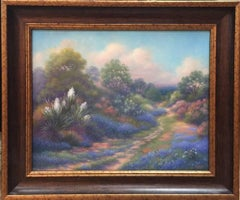 """The Forgotten Trail""  Bluebonnet Painting"