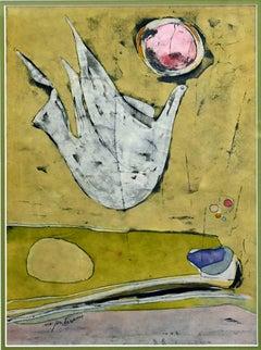 """""""Dove""""  Mid Century Modern Texas Abstract"""
