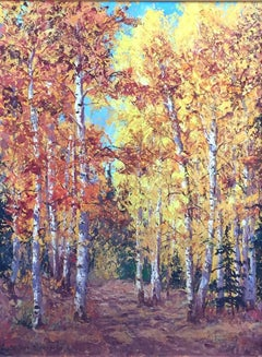 """Golden Autumn""  Yellows, Reds,  Aspens Gorgeous Fall Colors"