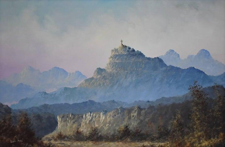 Lester Hughes Landscape Painting