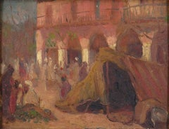 """In the Market Place""  Algiers"