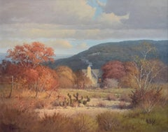 """""""La Quinta""""  Country Home.  Texas Hill Country in Autumn  Fall Colors"""