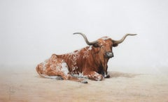 """Texas Longhorn""  Fantastic Colored Pencil Drawing."