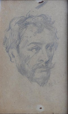"""""""William Merritt Chase"""" Portrait by Texas Artist Hugo Pohl"""