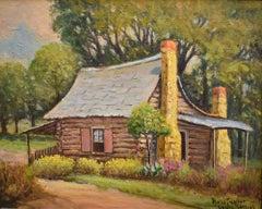 """Leon Springs"" Near San Antonio Texas Old Cabin"
