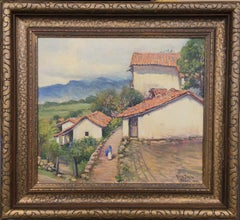 """TAXCO"" MEXICO  1935  Early Mexican Villiage Scene"