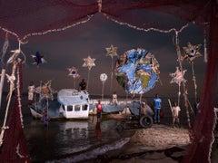 LA TERRE, LES ETOILES ET LE BATEAU ECHOUE  / THE EARTH, THE STARS AND THE WRECK