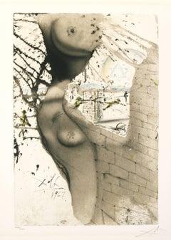 Aliyah, Return, O Virgin of Israel Salvador Dali original lithograph