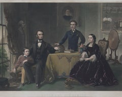 Lincoln and His Family, Philadalphia 1866