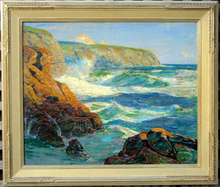 Cliffs on the Irish Coast, ca. 1915, by John Inglis