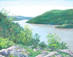 View of Stony Point on the Hudson River