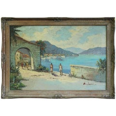Beach Scene Painting