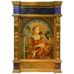 Contemporary Russian Renaissance Style Oil Painting