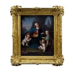 Madonna of the Rocks after Leonardo Da Vinci