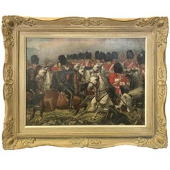 Royal Scots Greys in Battle Attributed to William Edward Millner