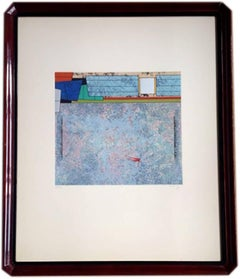 """Gunther Gerso, Del árbol florido 7"""", lithograph 70/100, 1980."""