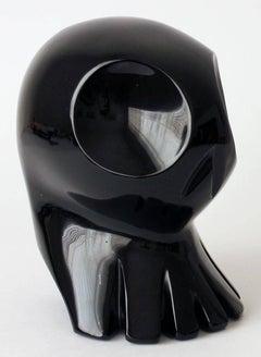 Silvino Lopeztovar, Alieno, golden obsidian, 2013.
