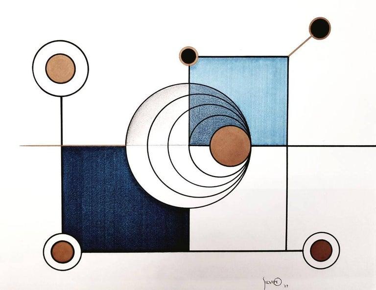 Silvino Lopeztovar, Circulante, mix media, 2013.