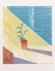 David Hockney - Sun (State I)