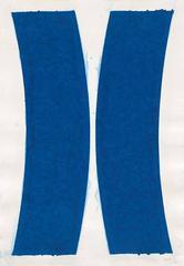 Ellsworth Kelly - Colored Paper Image V (Blue Curves)