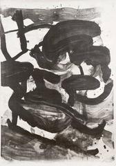 Untitled (Large Sumi Brushstrokes)