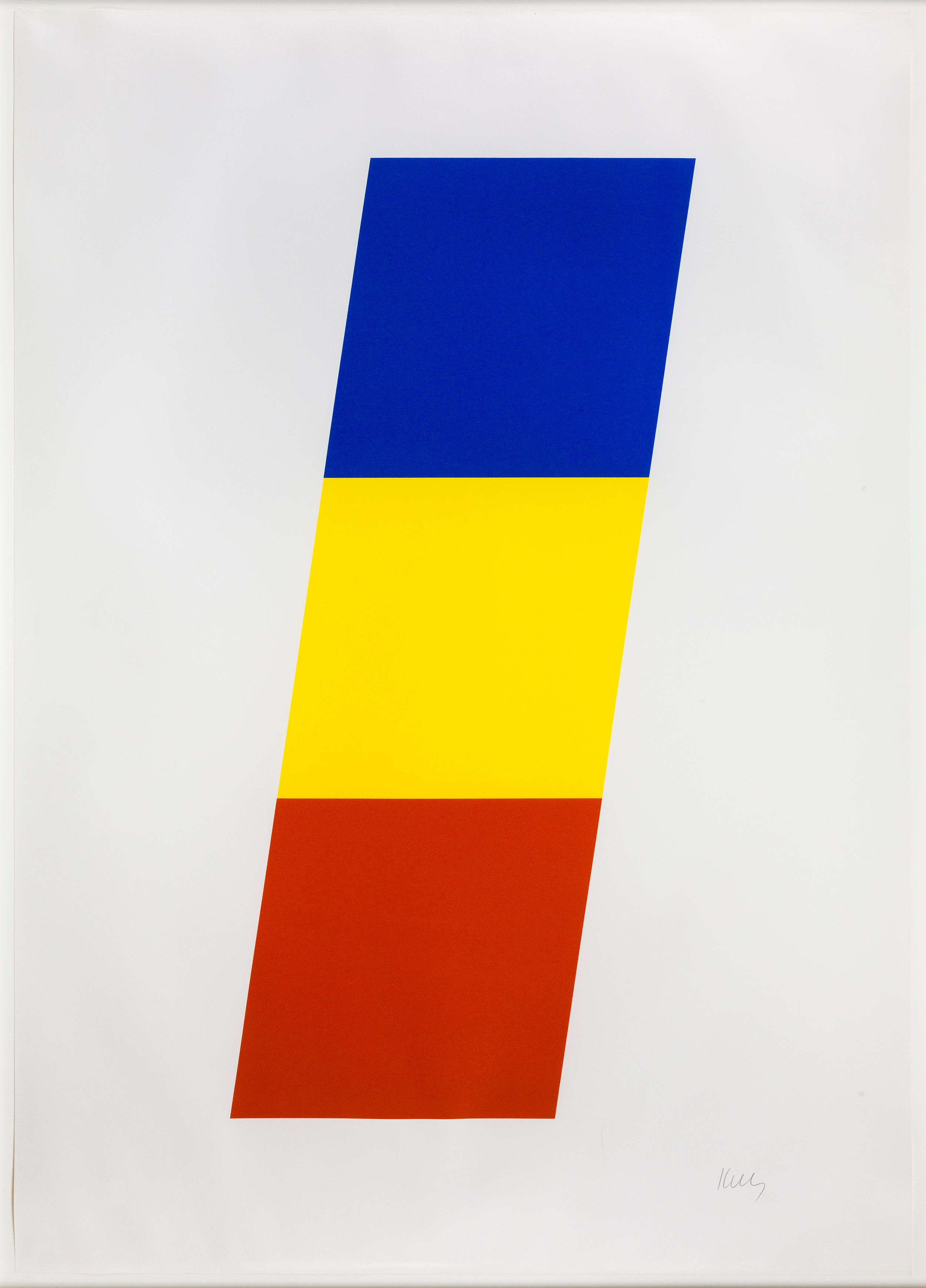 Ellsworth Kelly - Blue Yellow Red, Print For Sale at 1stdibs