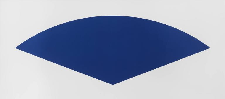 Ellsworth Kelly - Blue Curve (State III) 1