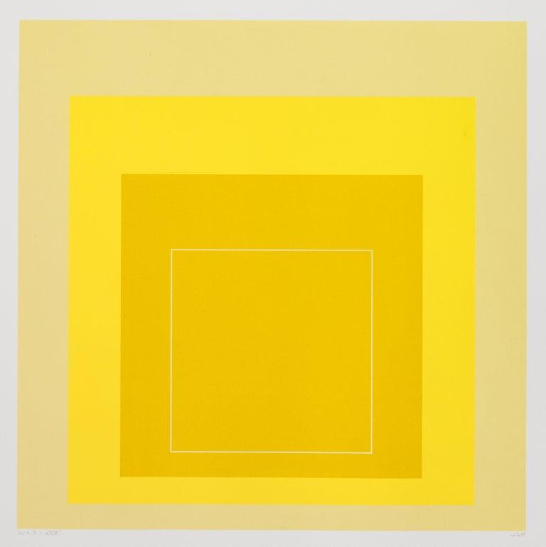 Josef Albers Abstract Print - WLS XVII