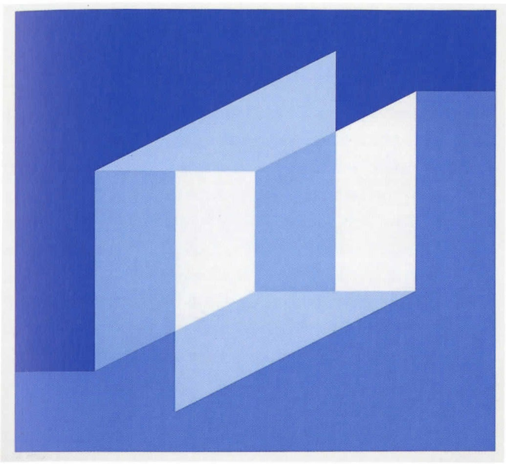 Josef Albers Never Before I Print For Sale At 1stdibs
