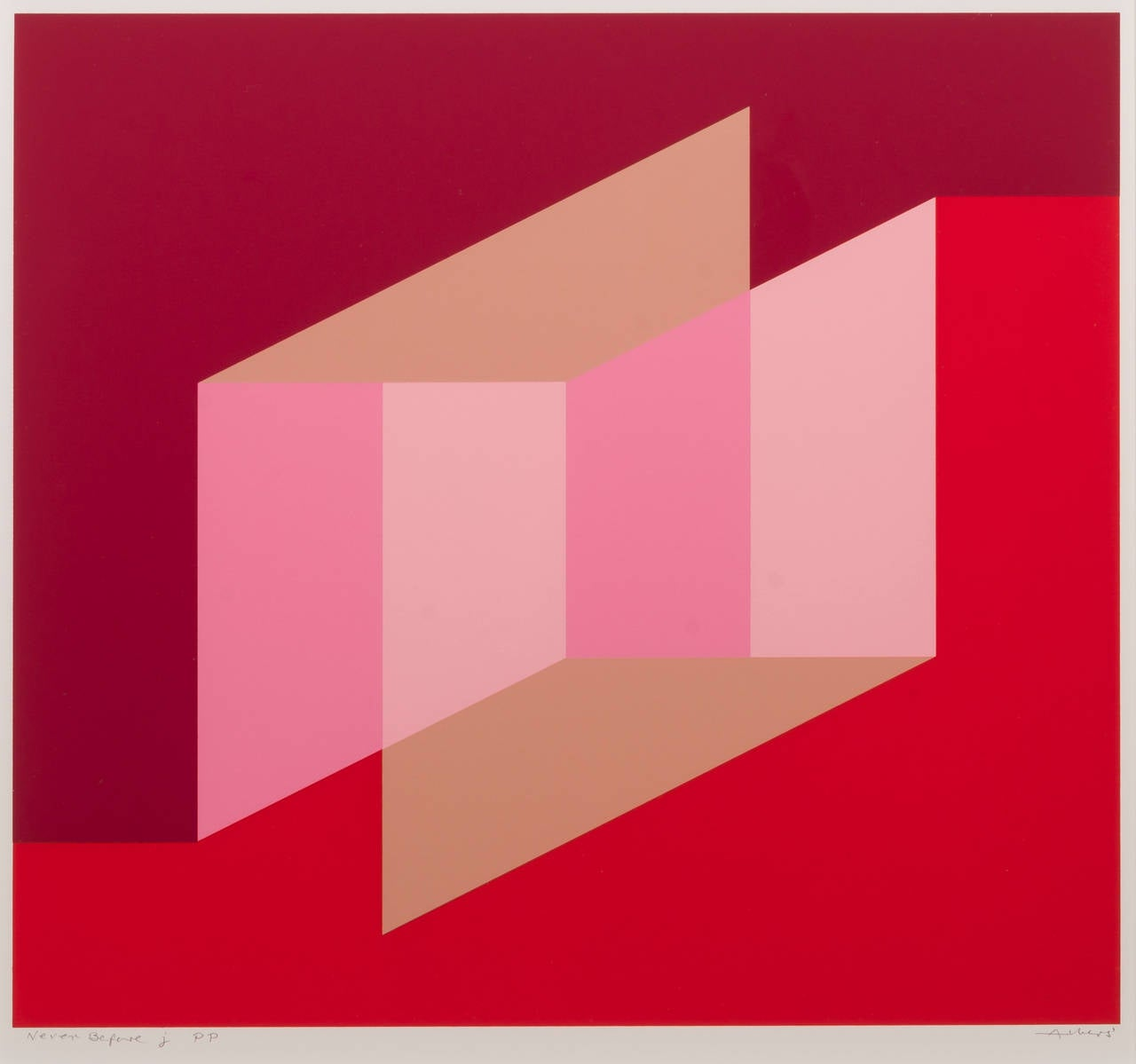 Josef Albers Never Before J Print For Sale At 1stdibs