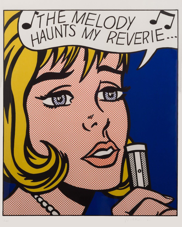 Reverie, 1965, by Roy Lichtenstein
