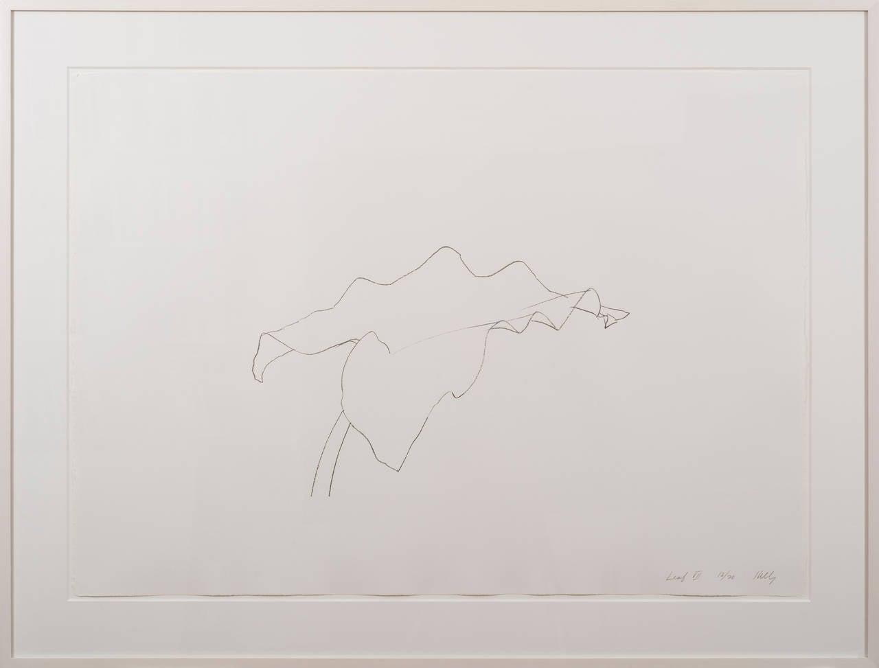 Leaf VII - Contemporary Print by Ellsworth Kelly