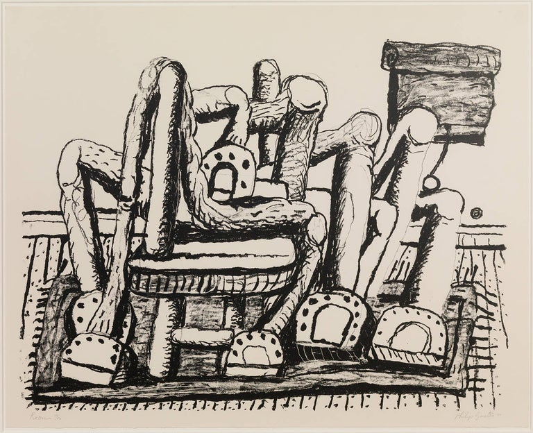 Room - Print by Philip Guston