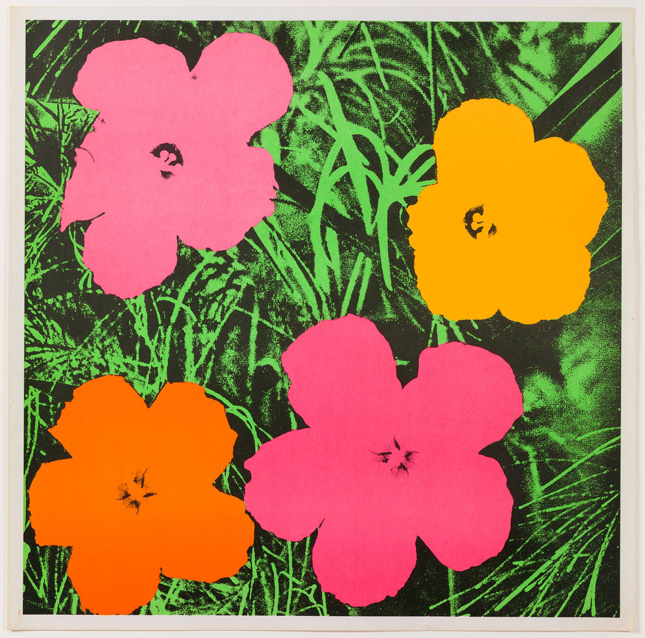 Flowers Print By Andy Warhol