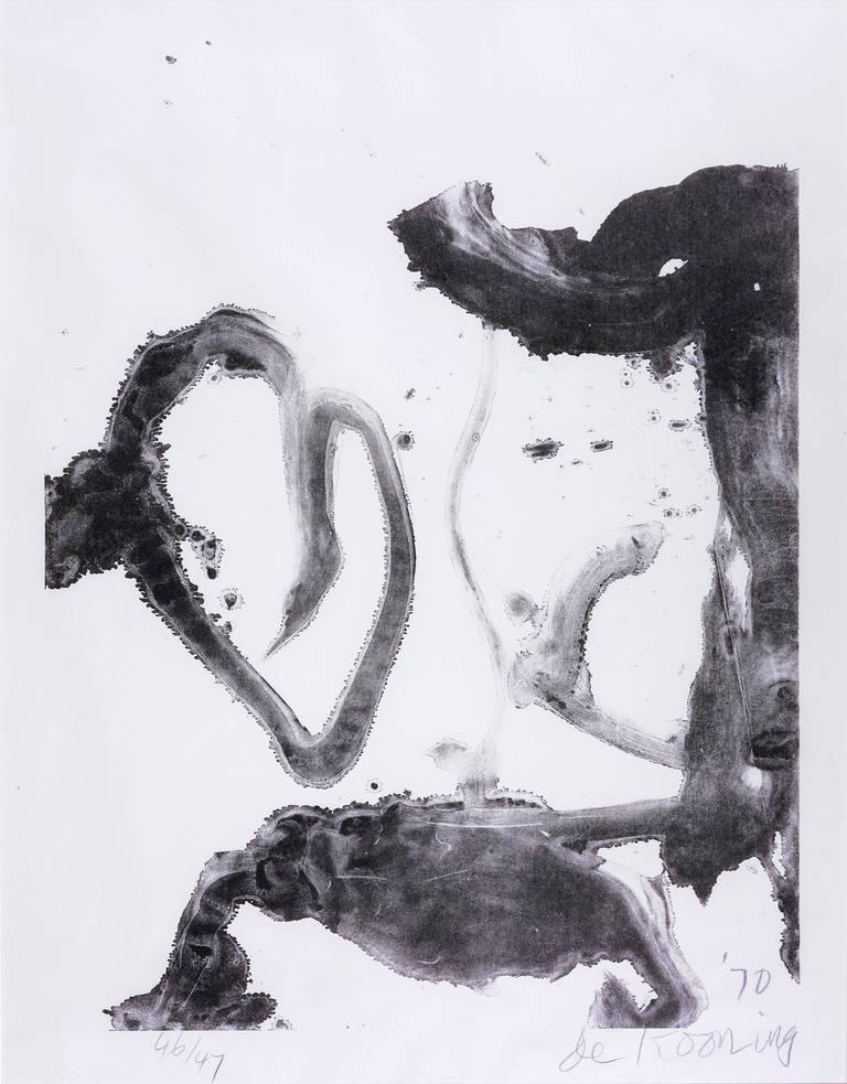 Willem de Kooning Abstract Print - Valentine