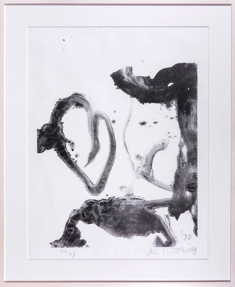Valentine - Print by Willem de Kooning