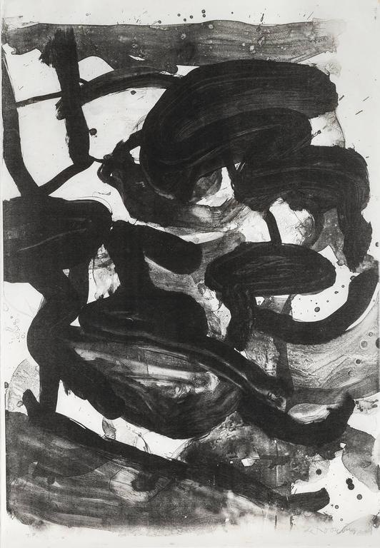 Untitled (Large Sumi Brushstrokes)