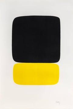 Black over Yellow
