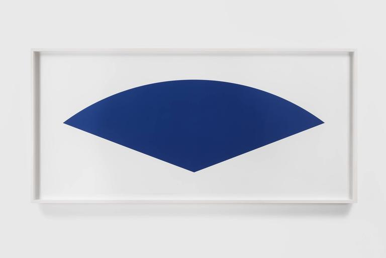 Blue Curve (State III) - Print by Ellsworth Kelly