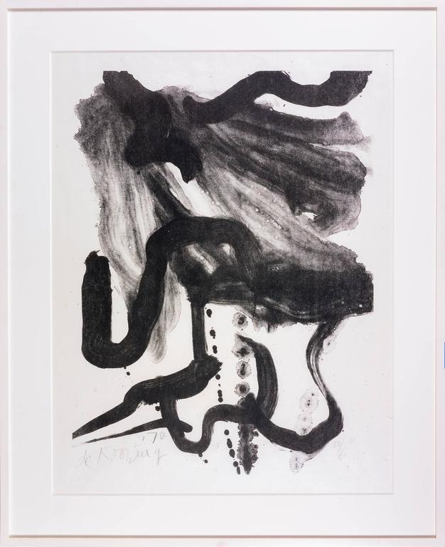 Woman with Corset and Long Hair - Print by Willem de Kooning