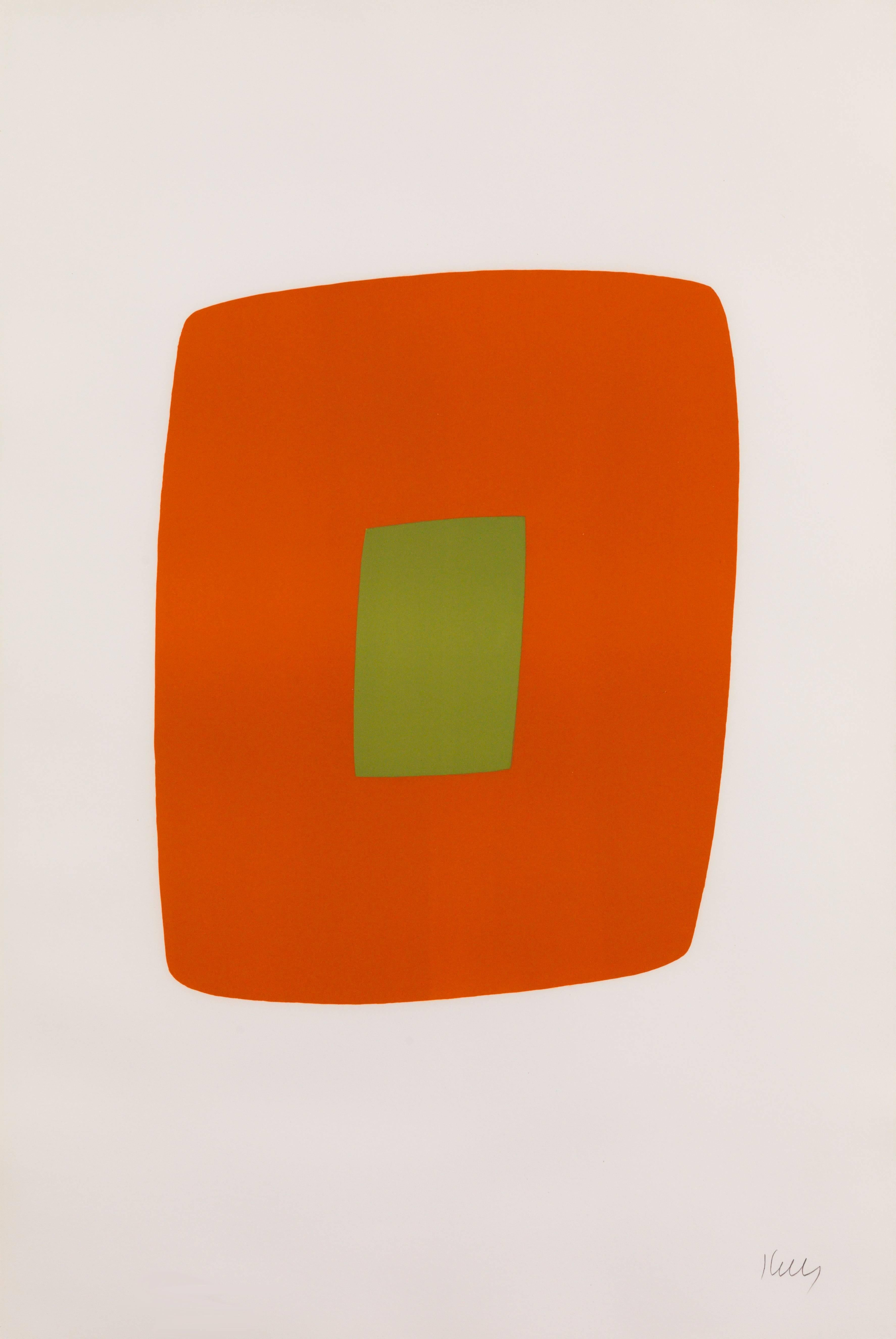 Orange with Green