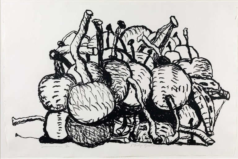 Summer - Print by Philip Guston
