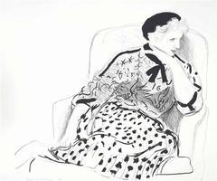 Celia in an Armchair