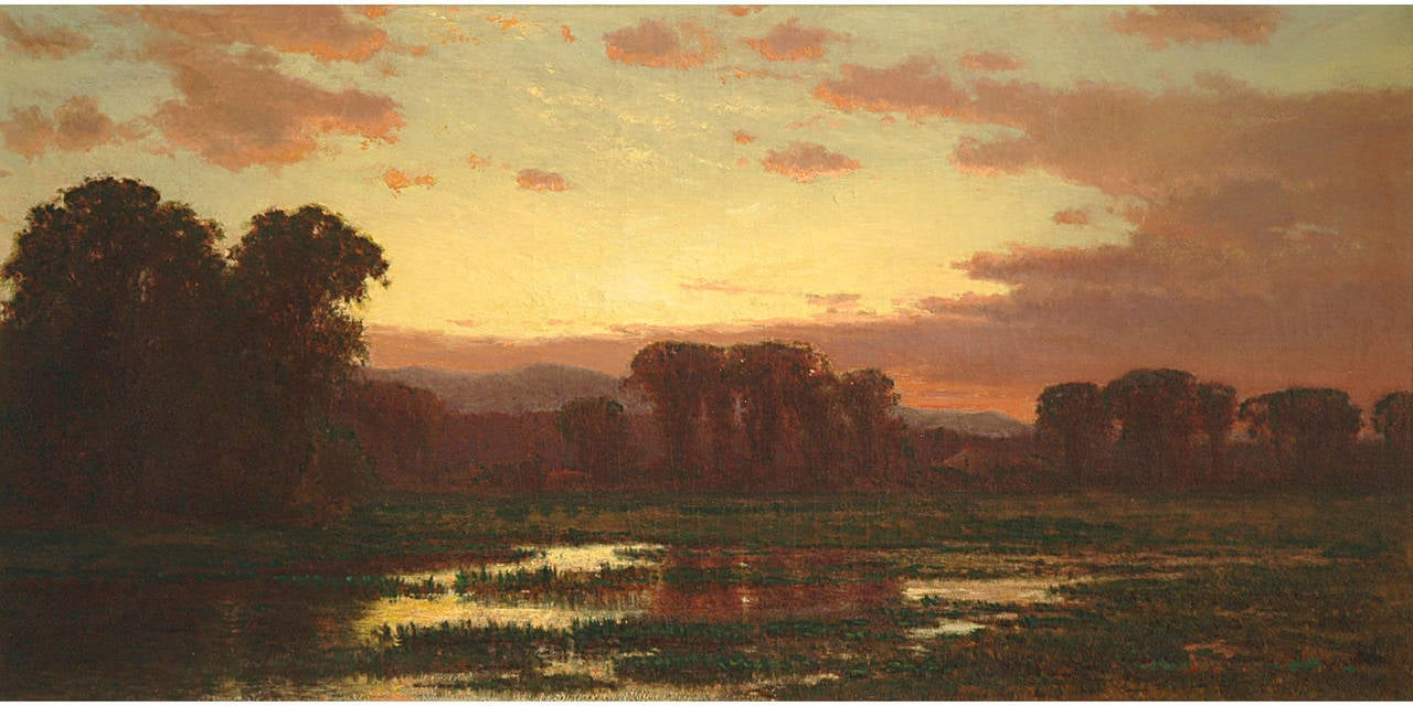 James Renwick Brevoort Sunset Painting At 1stdibs