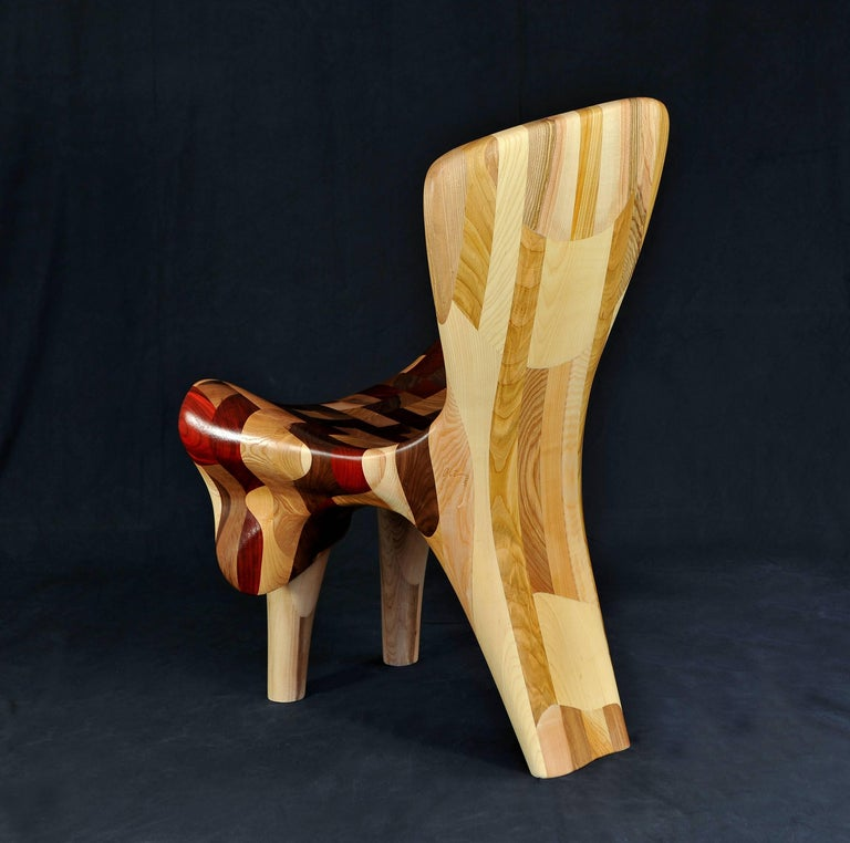 The Chairs in Love. Chairs Sculpture shown in 15Venice Architecture Biennale For Sale 1