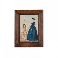 19th Century Primitive Watercolour