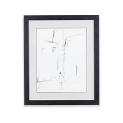 21st Century framed sketch by Nicola Hallett