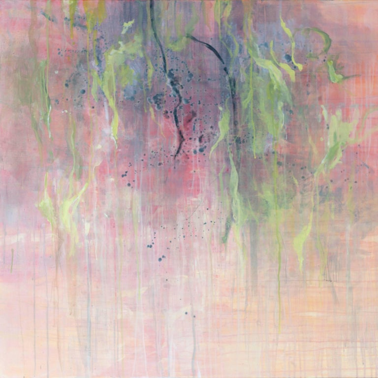 Jana Emburey Abstract Painting - Emerging